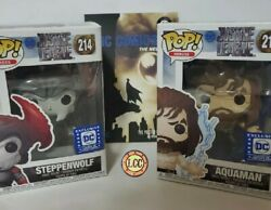 Aquaman Funko Pop 210 /steppenwolf Funko 214 And Dc Comics The New 52 Collection