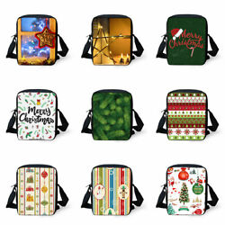 Christmas Crossbody Bags Casual Messenger for Women Men Fanny Pack Pouch Gifts $9.99
