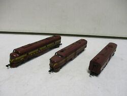 Atlas With Kato Drive Prr Locomotive 5907 With B Unit And Dummy N Scale