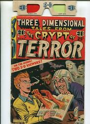 Three Dimensional Tales From The Crypt Of Terror 2 2.0 With Glasses 1954