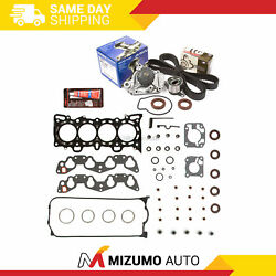Head Gasket Set Timing Belt Kit Aisin Water Pump Fit 92-95 Honda Sohc 16v D15z1