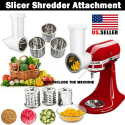 Prep Slicer And Shredder Attachment For Kitchenaid Stand Mixer Food Home Kitchen