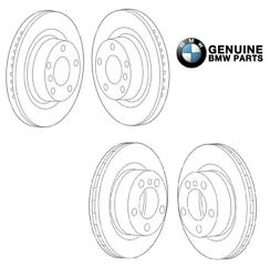 Genuine Front And Rear Disc Brake Rotors Kit For Bmw F80 F82 F83 M3 M4
