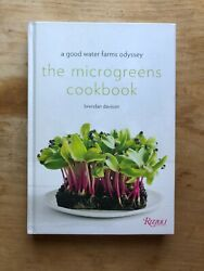 [signed] The Microgreens Cookbook A Good Water Farms Odyssey By Brendan Davison