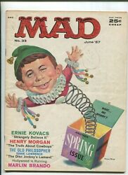Mad 33 4.0 1957 Another Spring Issue