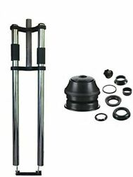 Bicycle 26 Triple Tree Non Suspension Fork /double Shoulder And 1 1/8 Headset