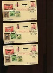 Philippines Nuz1 Scarce Lot Of 12 Japanese Provisional K.p. Official Post Cards