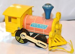 Vintage Fisher Price Toy Train Toot Toot 643 1964 Division Of Quaker Oats Co.