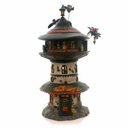Department 56 House WITCH WAY HOME TOWER Ceramic Halloween 4051009