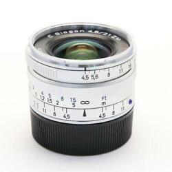 [top Mint] Carl Zeiss C Biogon T 21mm F4.5 Zm For Leica M 0036 From Japan