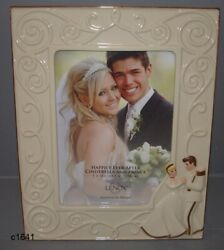Lenox Disney Cinderella And Happily Ever After Wedding 5x7 Frame New In Box