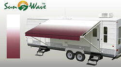 Rv Awning Replacement Camper Trailer Vinyl Fabric Sun Shade Protection 18 Ft New