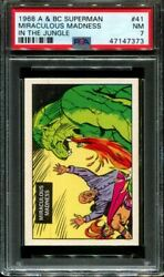 1968 A And Bc Superman In The Jungle 41 Miraculous... Pop 2 Psa 7 N2916439-373
