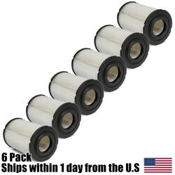 6pk Air Filters For New Holland Skid Steer Loaders L225 L325 Trenchers T-330