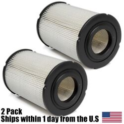2pk Air Filters For New Holland Skid Steer Loaders L225 L325 Trenchers T-330