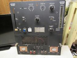 Hobart Tr-250-hf Arc Stick Tig Welder Ac/dcfront Panel Only For Partsfree Ship