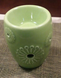 Scentsy Warmer Plug In Top Globe Only Green