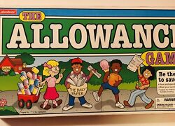 The Allowance Board Game By Lakeshore - Learn To Earn Save And Spend Money.