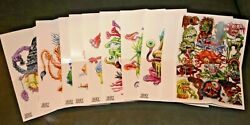 2020 Ugly Stickers Poster Set 10 5x7 Like Wacky Packages Garbage Pail Kids