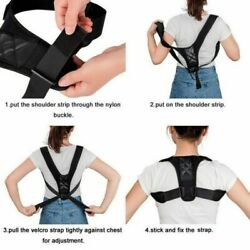 Adjustable Posture Corrector Shoulder For Men Women Support Correct Brace Belt $3.99