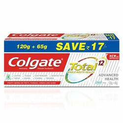 Roll Over Image To Zoom In Colgate Total Whole Mouth Health Toothpaste 185g
