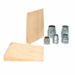 Big Horn 15107 7 Piece Round Steel Wedges Set With Wood Piece For Hammer Handles