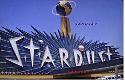 35 Mm Color Slide Of The Stardust Hotel And Casino Sign Las Vegas Street View 1969
