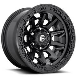 20x10 Fuel Wheels D694 Covert 6x139.70 Matte Black Off Road Rims -18 S41