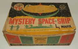 Vintage Marx Mystery Space Ship Toy - Box Only