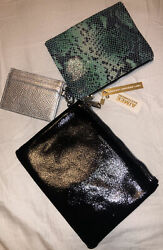 Small Bags Silver Green And Black $5.99