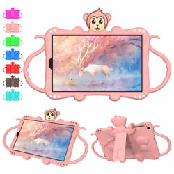 For Samsung Galaxy Tab A 8.0 8.4 10.1 Inch Kids Strap Stand Portable Tablet Case $20.12