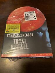 Total Recall Dvd, 2001, Special Limited Edition Metal Mars Case Brand New