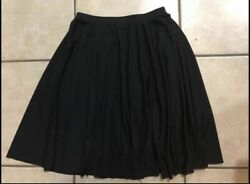 Body Wrappers 511 Black Character Dance Skirt Youth size 12 14