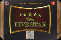 2011 Topps Five Star Football Hobby Box Blowout Cards