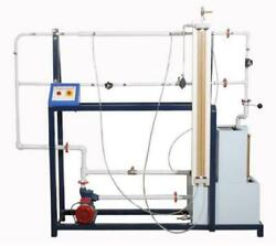 Friction Loss In Pipes Apparatus - Fluid Mechanics Lab Experimental Setup