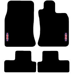 Tailored Carpet Car Floor Mats For Mini 2001 To 2006 R50 R53 With Logo