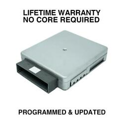 Engine Computer Programmed/updated 2001 Ford Escape Yl8a-12a650-aa Zoq0 2.0l