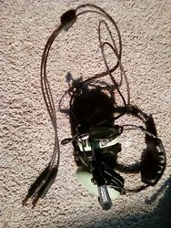 David Clark Pilot Headset Very Good Condition Model H10-30 Never Used