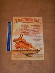 Maritime Hall Poster July 2001 Mhp 124 Social Distortion Ken Boothe Others