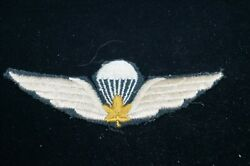 Ww2 Canadian 1st Can Para Parachute Wing Patch 1