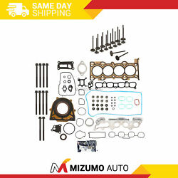 Full Gasket Set Intake Exhaust Valves Fit 06-09 Mazda 3 5 6 Mx-5 2.0l And 2.3l