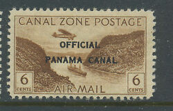 Canal Zone Scott Co14 Rare Mint Stamp F Over 2nd A Var Pos 50 Stk Co14 Fa