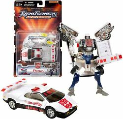 Year 2003 Transformers Universe Exclusive Deluxe Class 6 Figure Autobot Prowl