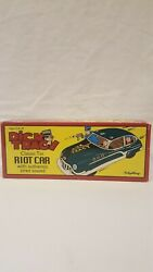 2002 Schylling Dick Tracy Classic Tin Riot Car With Authentic Siren Sound