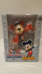 2010 Disney Mickey Mouse Mlb Sf Giants Ws Champs All Star Figurine Rare New