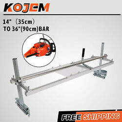 Chainsaw Mill 14-36 Portable Chain Saw Mill Aluminum Steel Planking Lumber