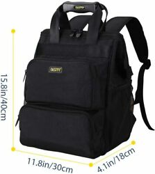 Backpack, Electrician Tool Bag, Laptop Compartment, Black,fasite X516a