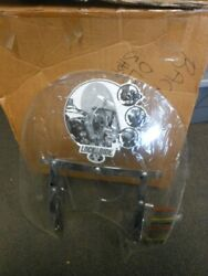 Nos Polaris Victory Lock And Ride 25 Low Windshield W/ Flames Cruisers 2876371-02
