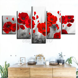 5PCS Unframed Picture Canvas Art Print Painting Living Room Wall Art Home Decor $15.35
