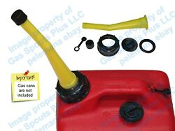 Chilton Yellow Gas Can Spout And Parts Kit Sears Craftsman Aftermarket Replacement